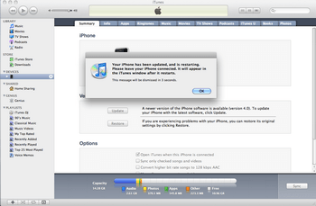 Apple iPhone 4 met iOS 5 - Software - Update installeren via PC - Stap 8
