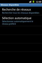 Samsung S6500D Galaxy Mini 2 - Réseau - Utilisation à l