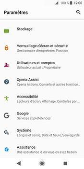 Sony Xperia XZ2 - Sécuriser votre mobile - Personnaliser le code PIN de votre carte SIM - Étape 4