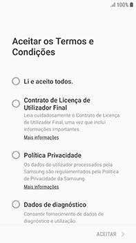 Samsung Galaxy S7 Edge - Android Oreo - Primeiros passos - Como ligar o telemóvel pela primeira vez -  7