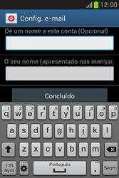 Samsung Galaxy Fame - Email - Adicionar conta de email -  9