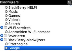 BlackBerry 9700 Bold - Internet - Hoe te internetten - Stap 8