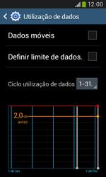 Samsung Galaxy Trend Plus - Internet no telemóvel - Como ativar os dados móveis -  5