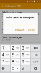 Samsung Galaxy S6 Edge - SMS - Como configurar o centro de mensagens -  9