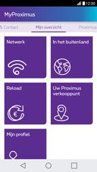LG X Screen - Applicaties - MyProximus - Stap 17