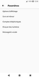 Sony Xperia XZ2 Compact - Messagerie vocale - Configuration manuelle - Étape 6