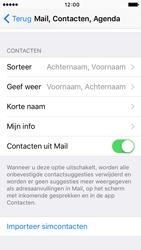 Apple iPhone 5s met iOS 9 (Model A1457) - Contacten en data - Contacten kopiëren van SIM naar toestel - Stap 6