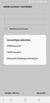 Samsung galaxy-a8-2018-sm-a530f-android-oreo - E-mail - Account instellen (IMAP met SMTP-verificatie) - Stap 9