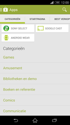Sony Xperia Z3 Compact 4G (D5803) - Applicaties - Downloaden - Stap 6