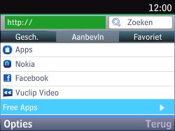Nokia Asha 201 - Internet - hoe te internetten - Stap 3