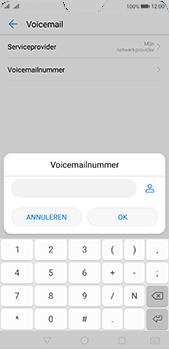 Huawei P20 Pro Dual-SIM (Model CLT-L29) - Voicemail - Handmatig instellen - Stap 8