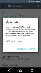 Sony Xperia XZ - Android Nougat - Internet - Activar o desactivar la conexión de datos - Paso 6
