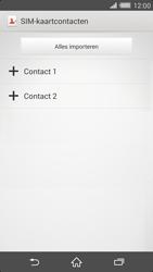 Sony Xperia Z2 4G (D6503) - Contacten en data - Contacten kopiëren van SIM naar toestel - Stap 8