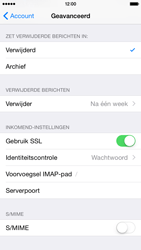 Apple iPhone 6 iOS 8 - E-mail - e-mail instellen: IMAP (aanbevolen) - Stap 24