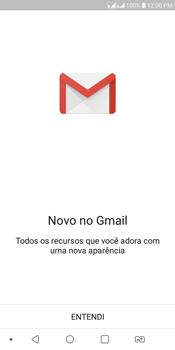 LG K12+ - Email - Como configurar seu celular para receber e enviar e-mails - Etapa 4