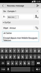 Bouygues Telecom Ultym 5 - E-mails - Envoyer un e-mail - Étape 10