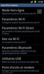 Samsung I8530 Galaxy Beam - Bluetooth - connexion Bluetooth - Étape 7