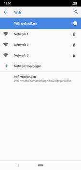 Nokia 8-1-dual-sim-ta-1119 - WiFi - Verbinden met een netwerk - Stap 7