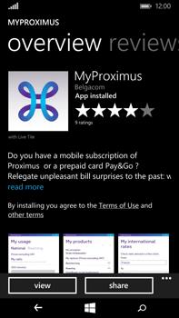 Microsoft Lumia 640 XL - Applications - MyProximus - Step 10