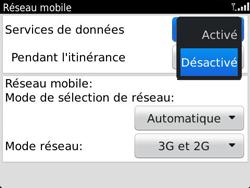 BlackBerry 9790 Bold - Internet - Activer ou désactiver - Étape 6