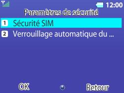 Bouygues Telecom Bc 311 - Sécuriser votre mobile - Personnaliser le code PIN de votre carte SIM - Étape 5