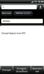HTC S510e Desire S - E-mail - envoyer un e-mail - Étape 6