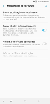 Samsung J4+ - Funções básicas - Como atualizar o software do seu aparelho - Etapa 5
