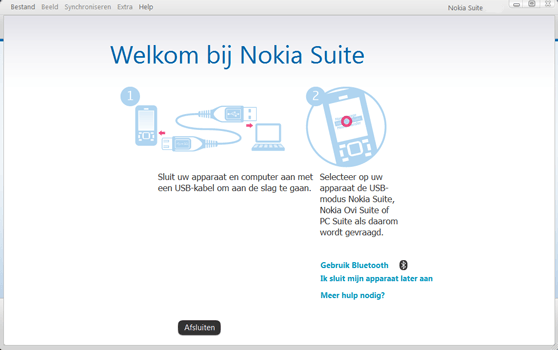 Nokia Asha 300 - Software - Download en installeer PC synchronisatie software - Stap 5