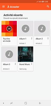 Samsung Galaxy Note 8 - Photos, vidéos, musique - Ecouter de la musique - Étape 6