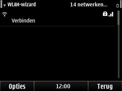 Nokia E6-00 - Wifi - handmatig instellen - Stap 15