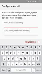 Samsung Galaxy S6 Edge - Email - Configurar a conta de Email -  17