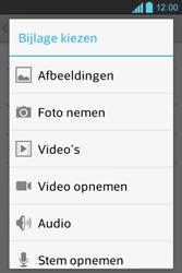 LG E610 Optimus L5 - E-mail - hoe te versturen - Stap 10