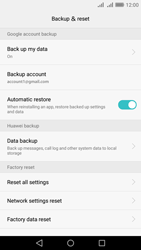 Huawei Y6 II - Device maintenance - Create a backup of your data - Step 10