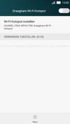 Huawei Y5 - WiFi - Mobiele hotspot instellen - Stap 10