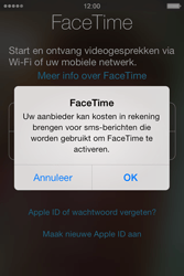 Apple iPhone 4 met iOS 7 - Applicaties - FaceTime gebruiken - Stap 6