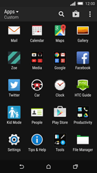 HTC One M8s - Internet - Manual configuration - Step 3