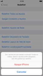 Apple iPhone 7 - iOS 12 - Funções básicas - Como restaurar as configurações originais do seu aparelho - Etapa 7