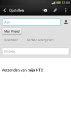HTC Desire 601 - E-mail - e-mail versturen - Stap 7