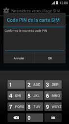 Bouygues Telecom Ultym 5 II - Sécuriser votre mobile - Personnaliser le code PIN de votre carte SIM - Étape 9