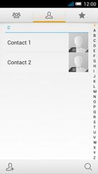 Alcatel OT-5036X Pop C5 - Contacten en data - Contacten kopiëren van SIM naar toestel - Stap 4
