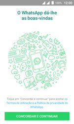 Wiko Sunny DS - Aplicações - Como configurar o WhatsApp -  5