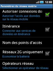 Samsung S5570 Galaxy Mini - Réseau - utilisation à l'étranger - Étape 9