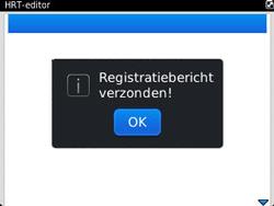 BlackBerry 9320 Curve - Instellingen - configuratiebericht ontvangen - Stap 8