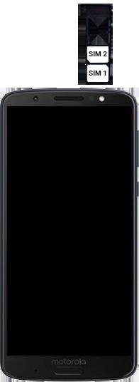 Motorola Moto G6 Plus - Primeiros passos - Como inserir o chip da Nextel no seu celular - Etapa 5
