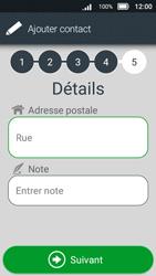 Doro 8031 - Contact, Appels, SMS/MMS - Ajouter un contact - Étape 13