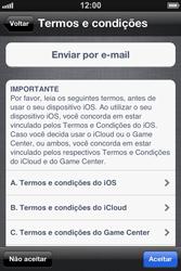 Apple iPhone iOS 5 - Primeiros passos - Como ativar seu aparelho - Etapa 20