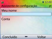 Huawei U6020 - Email - Como configurar seu celular para receber e enviar e-mails - Etapa 13