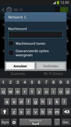 Samsung I9505 Galaxy S IV LTE - Wi-Fi - Verbinding maken met Wi-Fi - Stap 7