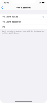 Apple iPhone 11 - Réseau - activer 4G - Étape 7