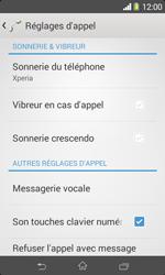 Sony D2005 Xperia E1 - Messagerie vocale - configuration manuelle - Étape 6